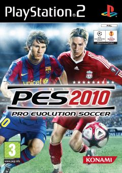 Jaquette de PES 2010 PlayStation 2