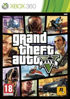 Jaquette de Grand Theft Auto V Xbox 360