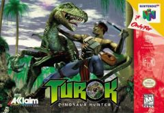 Jaquette de Turok : Dinosaur Hunter Nintendo 64