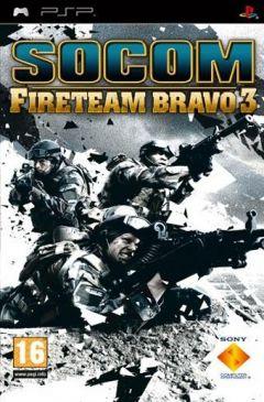 Jaquette de SOCOM : U.S. Navy SEALs Fireteam Bravo 3 PSP