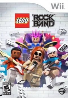 Jaquette de LEGO Rock Band Wii