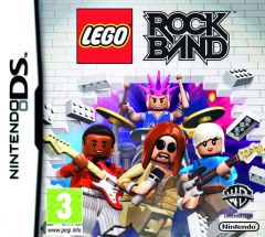 Jaquette de LEGO Rock Band DS