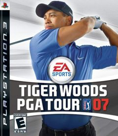 Jaquette de Tiger Woods PGA Tour 07 PlayStation 3