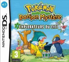 Jaquette de Pokémon : Donjon Mystère Explorateurs du Ciel DS