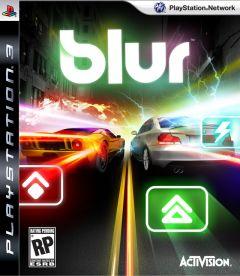 Jaquette de Blur PlayStation 3