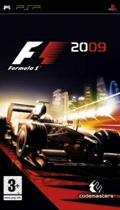 Jaquette de F1 2009 PSP