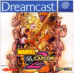Jaquette de Marvel Vs. Capcom 2 Dreamcast