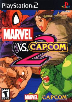 Jaquette de Marvel Vs. Capcom 2 PlayStation 2