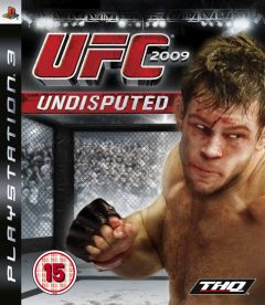 Jaquette de UFC Undisputed 2009 PlayStation 3