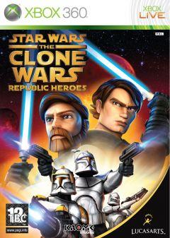 Jaquette de Star Wars : The Clone Wars - Les Héros de la République Xbox 360