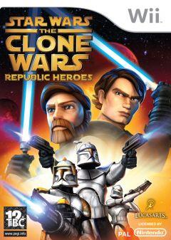 Jaquette de Star Wars : The Clone Wars - Les Héros de la République Wii