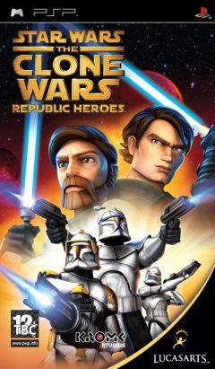Jaquette de Star Wars : The Clone Wars - Les Héros de la République PSP