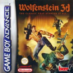 Jaquette de Wolfenstein 3D Game Boy Advance