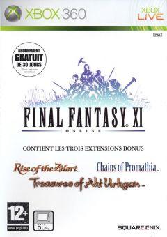 Jaquette de Final Fantasy XI Online Xbox 360