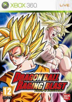 Jaquette de Dragon Ball Raging Blast Xbox 360