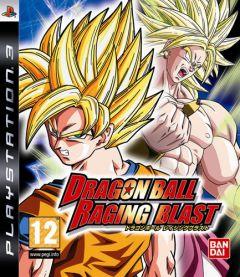 Jaquette de Dragon Ball Raging Blast PlayStation 3