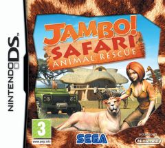 Jaquette de Jambo! Safari : Animal Rescue DS