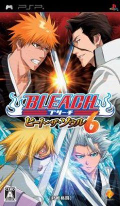 Jaquette de Bleach : Heat The Soul 6 PSP