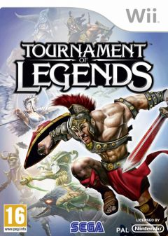 Jaquette de Tournament of Legends Wii
