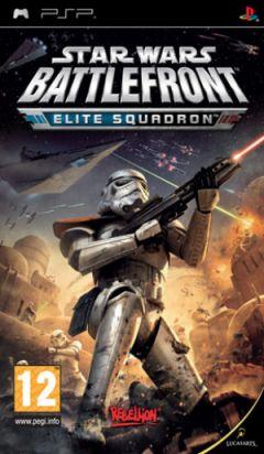 Jaquette de Star Wars Battlefront : Elite Squadron PSP