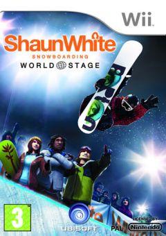 Jaquette de Shaun White Snowboarding : World Stage Wii