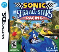 Jaquette de Sonic & SEGA All-Stars Racing DS