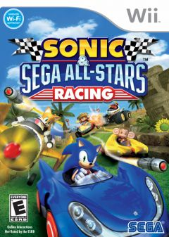 Jaquette de Sonic & SEGA All-Stars Racing Wii