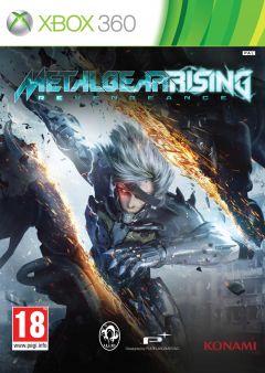 Jaquette de Metal Gear Rising : Revengeance Xbox 360