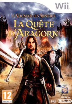 Jaquette de Le Seigneur des Anneaux : La Quête d'Aragorn Wii