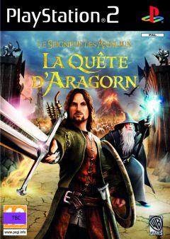 Jaquette de Le Seigneur des Anneaux : La Quête d'Aragorn PlayStation 2