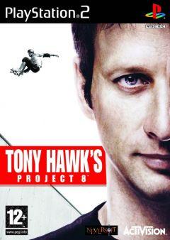 Jaquette de Tony Hawk's Project 8 PlayStation 2