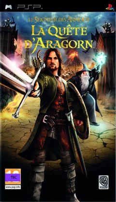 Jaquette de Le Seigneur des Anneaux : La Quête d'Aragorn PSP
