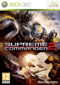 Jaquette de Supreme Commander 2 Xbox 360