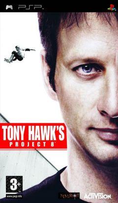 Jaquette de Tony Hawk's Project 8 PSP