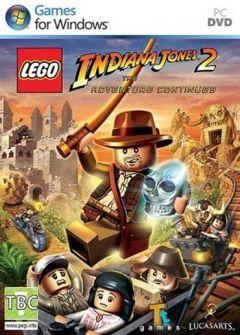 Jaquette de LEGO Indiana Jones 2 : L'aventure continue PC
