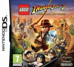 Jaquette de LEGO Indiana Jones 2 : L'aventure continue DS