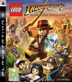 Jaquette de LEGO Indiana Jones 2 : L'aventure continue PS3