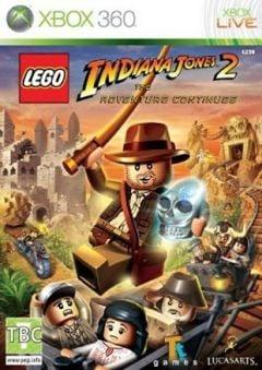 Jaquette de LEGO Indiana Jones 2 : L'aventure continue Xbox 360