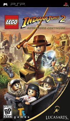 Jaquette de LEGO Indiana Jones 2 : L'aventure continue PSP