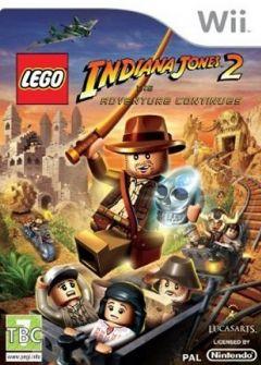 Jaquette de LEGO Indiana Jones 2 : L'aventure continue Wii