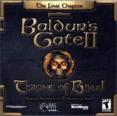 Jaquette de Baldur's Gate 2 : Throne of Bhaal PC