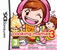 Jaquette de Cooking Mama 3 DS