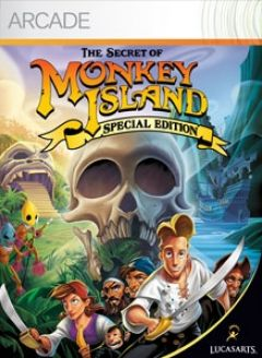 Jaquette de The Secret of Monkey Island Special Edition Xbox 360