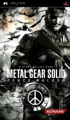 Jaquette de Metal Gear Solid : Peace Walker PSP