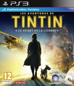 Jaquette de Les Aventures de Tintin : Le Secret de la Licorne PlayStation 3