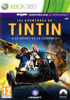 Jaquette de Les Aventures de Tintin : Le Secret de la Licorne Xbox 360