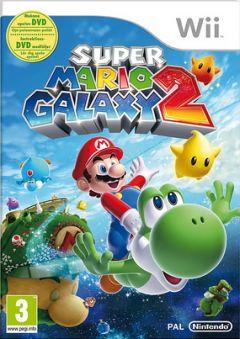 Jaquette de Super Mario Galaxy 2 Wii