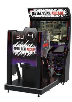 Jaquette de Metal Gear Arcade Arcade