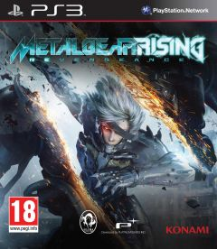 Jaquette de Metal Gear Rising : Revengeance PlayStation 3