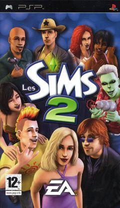 Jaquette de Les Sims 2 PSP